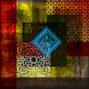 Islamic Art Prints - Islamic Motives Print by Corporate Art Task Force