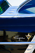Lincoln Photos - Lincoln Capri Emblem by Jill Reger