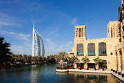 Fototrav Print - Madinat Jumeira and Burj Al Arab in...