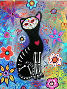 Pristine Cartera Turkus - Meow Ii Day Of The Dead