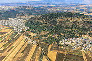 Har Framed Prints - Mount Tabor, Gilboa Framed Print by Ofir Ben Tov