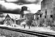 Jeff Holbrook Art - Old Depot by Jeff Holbrook
