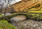 Packhorse Prints - Packhorse Bridge Wasdale Head Print by Trevor Kersley