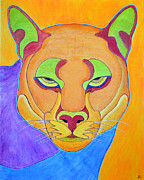 Puma Paintings - Puma 1 by Joseph J Stevens
