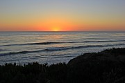 San Elijo Sunset Fine Art Print by Traci Lehman