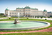 Austria Art - Schloss Belvedere in Vienna by JR Photography