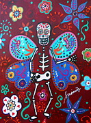 Pristine Cartera Turkus - Skellyfly Day Of The Dead