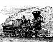 Railroad Drawings - The General by Bruce Kay