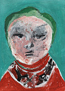 Toddler Portrait Paintings - Toddler by Edgeworth Johnstone