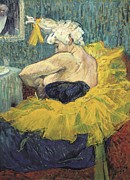 Ballet Dancers Photo Prints - Toulouse-lautrec, Henri De 1864-1901 Print by Everett
