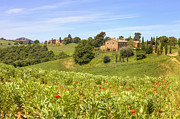 Farm House Photos - Tuscany - Montepulciano by Joana Kruse
