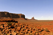 Western Prints - Utahs iconic Monument Valley Print by Christine Till