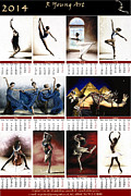 Figurative Prints - 1014 Fine Art Calendar Print by Richard Young