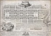King James Prints - 1768 James Craig Map of New Town Edinburgh Scotland  Print by Paul Fearn
