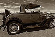 Steve Harrington - 1931 Model T Ford monochrome