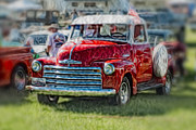 Retro Car Photos - 1948 Chevy Truck by Jak of Arts Photography