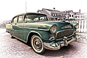 Hot Air Art - 1955 Chevy Bel Air by Marcia Colelli
