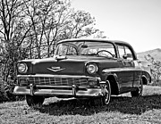Steve Harrington - 1956 Chevy monochrome