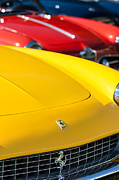 1965 Photos - 1965 Ferrari 275GTS Grille Emblems by Jill Reger