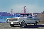 Family Car Framed Prints - 1965 Ford Ranchero III Framed Print by Dave Koontz