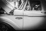 Old Trucks Photos - 1966 Ford Stepside First Series Pickup Truck by Rich Franco