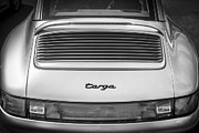 Expensive Prints - 1998 Porsche 911 Targa BW Print by Rich Franco