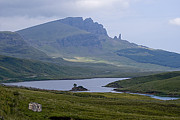 Peat Lake Posters - 1.	Old Man of Storr Isle of Skye Scotland Poster by Sally Ross