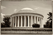 Thomas Jefferson Prints -  Thomas Jefferson Memorial Print by Carol Ailles