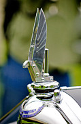 Shows Photo Framed Prints - 1934 Voisin C-25 Aerodyne Hood Ornament Framed Print by Jill Reger