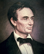 The President Of The United States Paintings - Abraham Lincoln by George Peter Alexander Healy