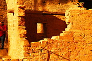 Native Architecture Posters - Anasazi Ruins Poster by Jeff  Swan