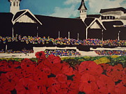 Kentucky Derby Prints - Churchill Downs Print by Nickie Mantlo