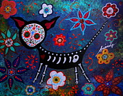 Pristine Cartera Turkus - Day Of The Dead Chihuahua
