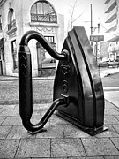 Asheville Digital Art - Flat Iron by Mark Block