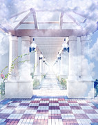 Pearly Gates Posters - Gateway to Heaven Poster by Rudy Umans