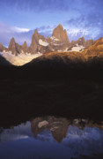 James Brunker - Mt Fitzroy at dawn Patagonia