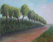 Eal Prints - Old Florida Road Print by Patty Weeks