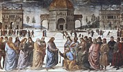 Christ Child Prints - Perugino, Pietro Vannucci, Called Il Print by Everett
