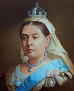 Queen Victoria Paintings - Queen Victoria by George Alexander