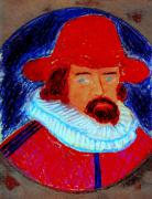 Knighted Painting Prints - Sir Francis Bacon Print by Richard W Linford