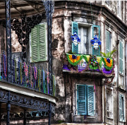 Mountain Dreams - The French Quarter during Mardi Gras