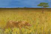 South Asia Paintings - The Hunt by Tim Townsend