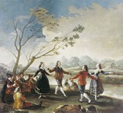 Art Of Dancers Prints - Goya Y Lucientes, Francisco De Print by Everett