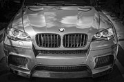 Bmw Racing Car Photos - 2013 BMW X6 M Series BW by Rich Franco