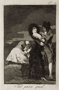 Alvarez Framed Prints - Goya Y Lucientes, Francisco De Framed Print by Everett
