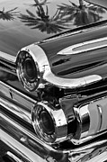 1962 Photos - 1962 Dodge Polara 500 Taillights by Jill Reger