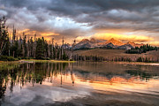 Awesome Prints - Golden Sunrise Print by Robert Bales