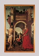 St Sebastian Framed Prints - Italy, Lazio, Rome, National Gallery Framed Print by Everett