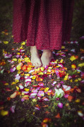 Bare Feet Photos - Petals by Joana Kruse