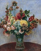 Interior Still Life Photo Metal Prints - Renoir, Pierre-auguste 1841-1919 Metal Print by Everett